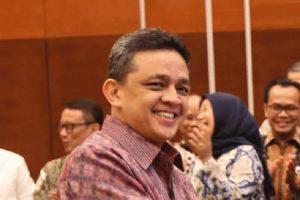 Direktur Jenderal Pengelolaan Pembiayaan dan Risiko Kemenkeu Luky Alfirman