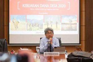 Direktur Jenderal Perimbangan Keuangan Kementerian Keuangan Astera Primanto Bhakti