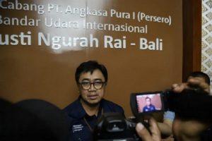 General Manager PT Angkasa Pura I (Persero) Bandar Udara Internasional I Gusti Ngurah Rai Herry A.Y. Sikado