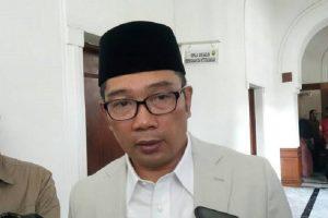 Gubernur Jawa Barat (Jabar) M Ridwan Kamil