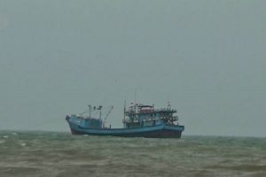 Kapal Nelayan Asing Sitaan Tenggelam di Perairan Pulau Semau NTT