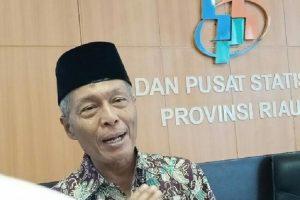 Kepala Badan Pusat Statistik (BPS) Riau Misfaruddin