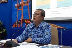 Kepala Bidang Distribusi Statistik BPS Jatim, Satrio Wibowo