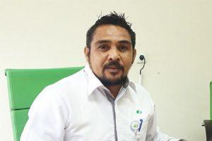 Kepala Kantor Cabang Papua Adventus Edison Souhuwat . A