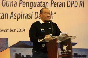 Ketua DPD RI AA Lanyalla Mahmud Mattalitti