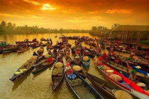 Kota Seribu Sungai Banjarmasin