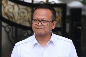 Menteri Kelautan dan Perikanan Edhy Prabowo
