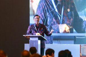 Menteri Koordinator Bidang Kemaritiman dan Investasi Luhut Binsar Pandjaitan