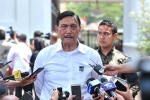 Menteri Koordinator Bidang Maritim dan Investasi Luhut Binsar Pandjaitan