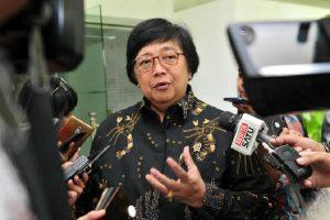 Menteri Lingkungan Hidup dan Kehutanan (LHK) Siti Nurbaya