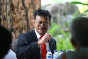 Menteri Pertanian (Mentan) RI, Syahrul Yasin