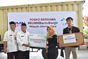 Pegadaian salurkan bantuan korban banjir Jabodetabek dan Banten