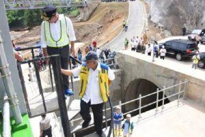 Presiden Jokowi dijadwalkan meresmikan Terowongan Nanjung di Bandung