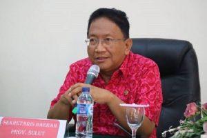 Sekretaris Daerah Provinsi Sulawesi Utara (Sulut) Edwin Silangen