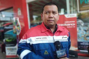 Unit Manager Communication dan CSR Pertamina Marketing Operation Region (MOR) VII Sulawesi, Hatim Ilwan.