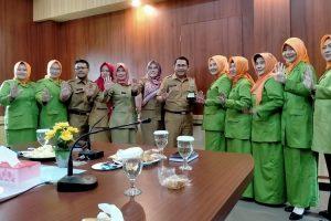 GOW Kabupaten Bogor Jalin Kolaborasi dan Kerjasama dengan Diskominfo Pemkab Bogor,,