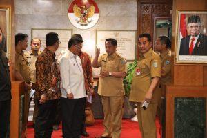 Mendagri Terima Kunjungan Gubernur Kaltara