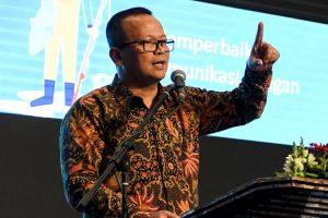 Menteri Kelautan dan Perikanan Edhy Prabowo ,