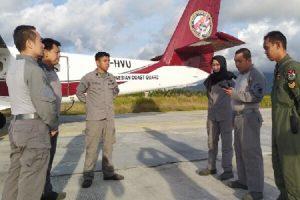 Operasi Udara Maritim Bakamla RI Pantau Perairan Natuna,