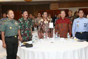 Panglima TNI Sebagai Saksi Penandatanganan Force Down Pesawat Asing