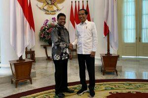 Presiden Konfederasi Serikat Pekerja Indonesia (KSPI) Said Iqbaldan Jokowi