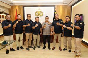 Terima Audiensi BPP Asosiasi Badan Usaha Pengamanan Indonesia