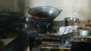 kebakaran rumah makan padang