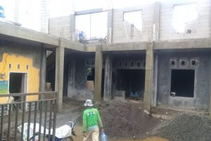 pembangunan gedung sekertaiat sukamanah