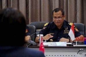 Direktur Kepabeanan Internasional dan Antar Lembaga Ditjen Bea dan Cukai Kemenkeu, Syarif Hidayat.