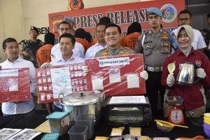 Polres Bogor Ungkap 13 Kasus Narkoba