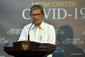 Juru Bicara Pemerintah untuk Penanganan virus corona, Achmad Yurianto. (Foto: Instagram @sekretariat.kabinet)