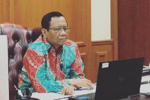 Menteri Koordinator Bidang Politik, Hukum, dan Keamanan, Moh. Mahfud MD.