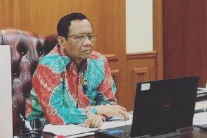 Menteri Koordinator Bidang Politik, Hukum dan Keamanan, Mahfud MD. (Foto: Instagram @mohmahfudmd)