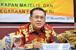 Ketua MPR, Bambang Soesatyo.