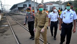 Dedie Rachim Pantau Aktivitas Stasiun Bogor Bersama BPTJ,,