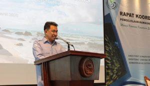 Direktur Jenderal Pengelolaan Ruang Laut Aryo Hanggono