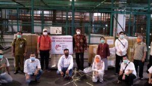 Indonesia Menerima Bantuan Alat Medis dari Yayasan Amal Taiwan.