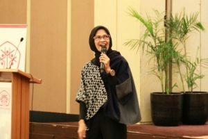 Juru bicara Kementerian Perhubungan, Adita Irawati