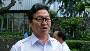 Kepala Dinas Ketahanan Pangan, Kelautan, Pertanian (KPKP) DKI Jakarta, Darjamuni..