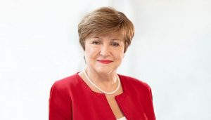 Managing Director International Monetary Fund (IMF) Kristalina Georgieva