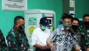 Mentan SYL meninjau ATM Pertanian si Komandan di Depok dan Cibinong..,..