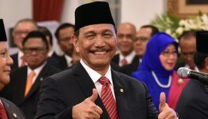 Menteri Koordinator Bidang Kemaritiman dan Investasi, Luhut Binsar Pandjaitan,