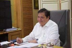 Menteri Koordinator Bidang Perekonomian, Airlangga Hartarto. (3)