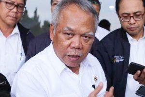 Menteri PUPR, Basuki Hadimuljono.