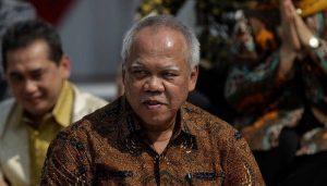 Menteri PUPR Basuki Hadimuljono..