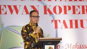 Menteri Perindustrian Agus Gumiwang Kartasasmita,