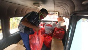 Perumda Pasar Jaya Pastikan Bansos Berupa Kebutuhan Pokok