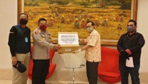 Sinar Mas Land Sumbang Ribuan Masker Kain untuk TNI – Polri.