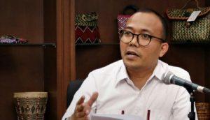 Staf Khusus Menteri Koperasi dan UKM M Riza Damanik …