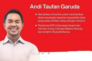 Staf Khusus Presiden Joko Widodo, Andi Taufan Garuda Putra